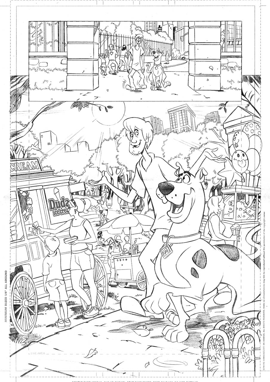 dalmation press coloring pages | NY Comicon 2012 | Paul Kupperberg